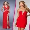 2015 Kırmızı Abiye Elbise Modelleri
