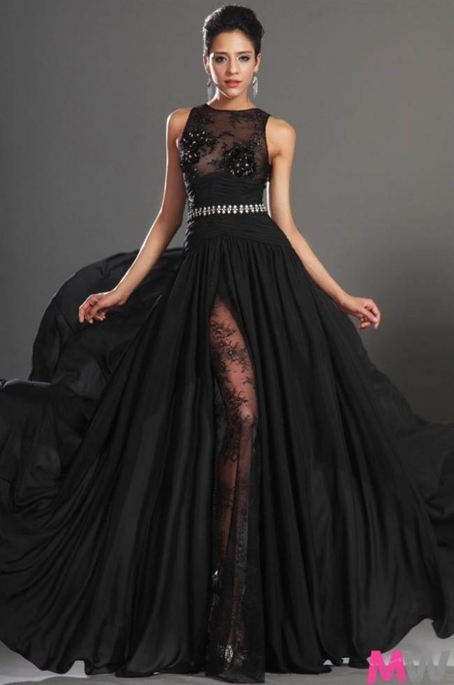 Длинные вечерние платья в пол на