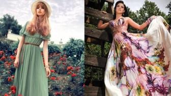 Kır Düğünü Elbise Modelleri