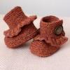 Örme Bebek Patiği Modelleri
