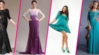 Yarım Kol Abiye Modelleri 2015
