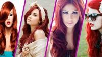 Kızıl Saç Modelleri 2015