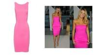 Pembe Elbise Modelleri Yeni