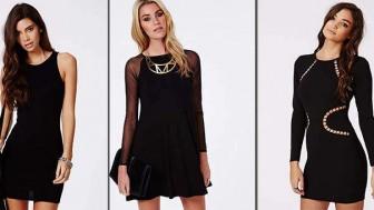 Her Zaman Kurtarıcıdır Siyah Elbise Modelleri