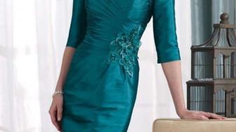 Yeşil Elbise Modelleri 2015
