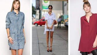 Yeni Trend Gömlek Elbise Modelleri