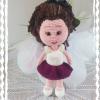 Amigurumi Örgü Kız Bebek Oyuncak Tarifi