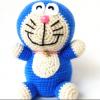 Amigurumi Doraemon (Mavi Kedi) Yapımı