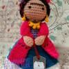 Amigurumi Frida Kahlo Oyuncak Modelleri