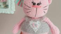 Amigurumi Tombiş Kedi Modeli