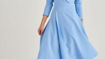 Şal Yaka Abiye Elbise Modelleri