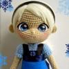 Amigurumi Elsa Bebek Yapımı