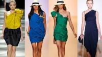 Asimetrik Abiye Elbise Modelleri