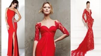 Dar Kesim Abiye Elbise Modelleri