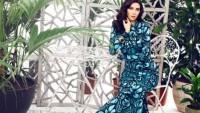 Desenli Abiye Elbise Modelleri