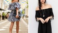 Fırfırlı Etek ve Elbiseler