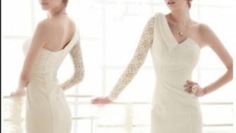 Krem Dantelli Abiye Elbise Modelleri