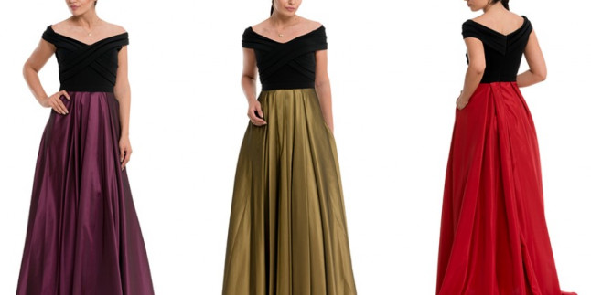 Prenses Model Abiye Elbiseler