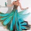 Renkli Abiye Elbise Modelleri