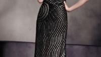 Zebra Desenli Abiye Elbiseler