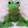 Amigurumi Oyuncak Kurbağa Yapımı
