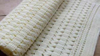 Selanik ve Haroşa Modeli Bebek Battaniyesi Yapımı