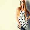 Puantiyeli Elbise Modelleri 2019