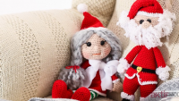 Amigurumi Noel Baba Tarifi