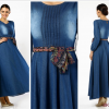 Kloş Elbise Modelleri