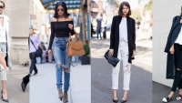 2019 Yırtık Kot Pantolon Modelleri