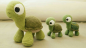 Amigurumi Kaplumbağa Oyuncak Tarifi