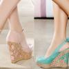 2019 Dolgu Topuk Ayakkabı Modelleri