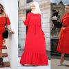 Kırmızı Abiye Modelleri 2019