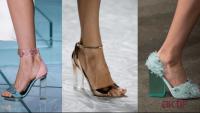 Yazlık Şeffaf Ayakkabı Modelleri 2019