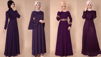 Şal Elbise Modelleri