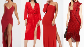 Kırmızı Abiye Modelleri 2020