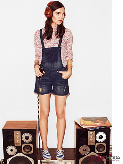 Moda Kısa Bahçıvan Pantolon Modelleri