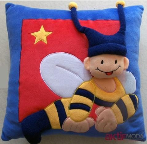 Dekoratif Çocuk Yastık Modelleri