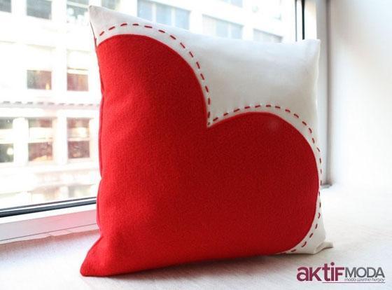 Dekoratif Kalpli Yastık Modelleri