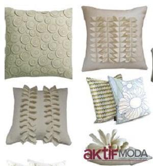 Dekoratif Yeni Yastık Modelleri