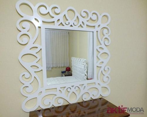 Desenli Dekoratif Ayna Modelleri