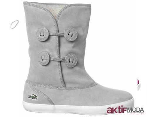 Gri Kışlık Bayan Ayakkabı Modelleri