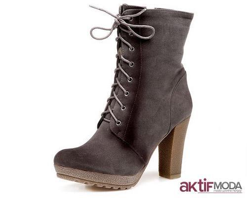 İpli Kışlık Bayan Ayakkabı Modelleri