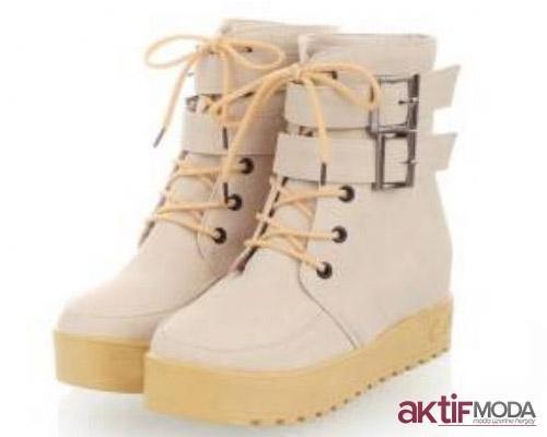 Kalın Topuklu Kışlık Bayan Ayakkabı Modelleri