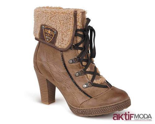 Yeni Moda Kışlık Bayan Ayakkabı Modelleri