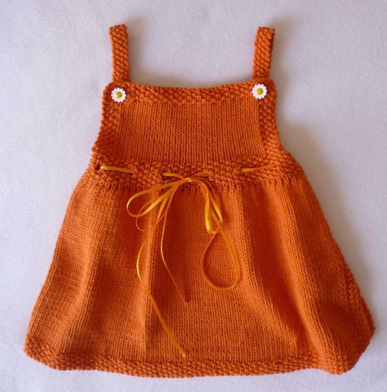 Çocuk Örgü Elbiseleri Açıklamalı
