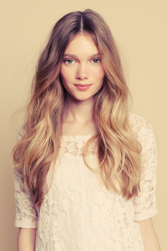 Dalgalı Saç Modelleri yapımı