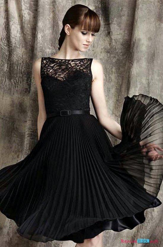 Dantelli Abiye Elbise Modelleri