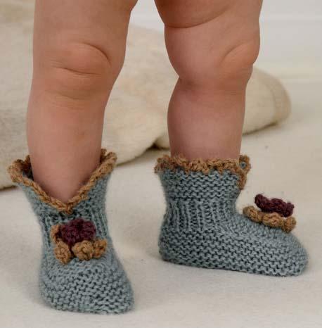 Örme Bebek Patiği Yapımı