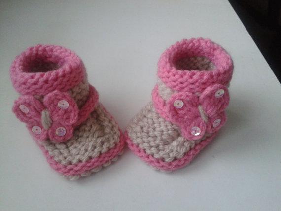 Örme Bebek Patik Örnekleri